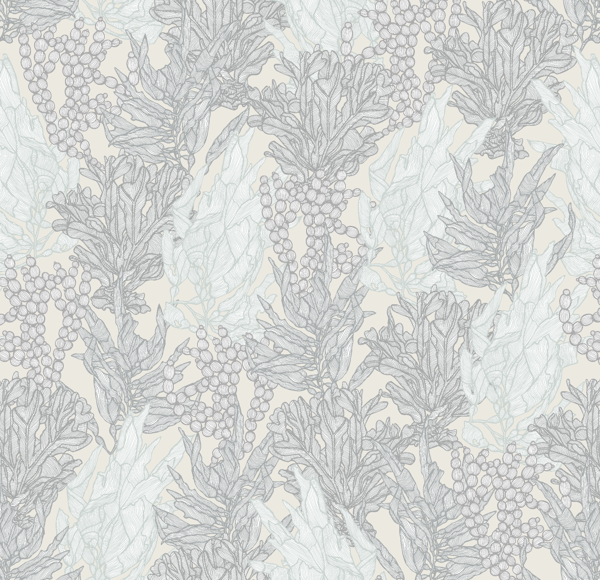 Sea Garden by Patricia Braune, with Bay colourway